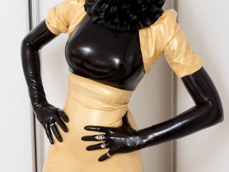 Latex dress by Adrienne