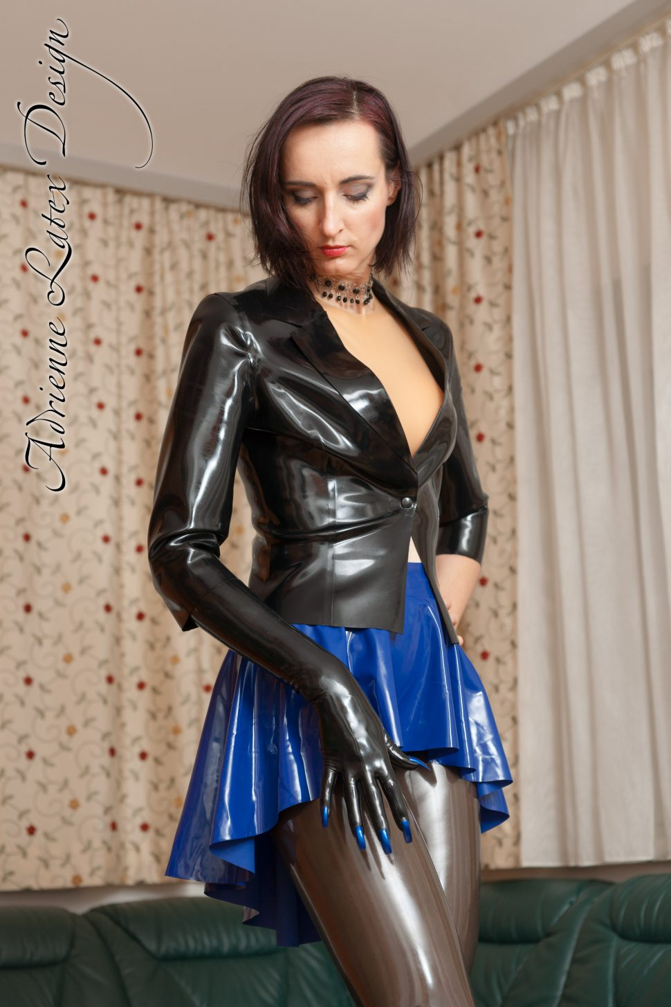 Latex jacket