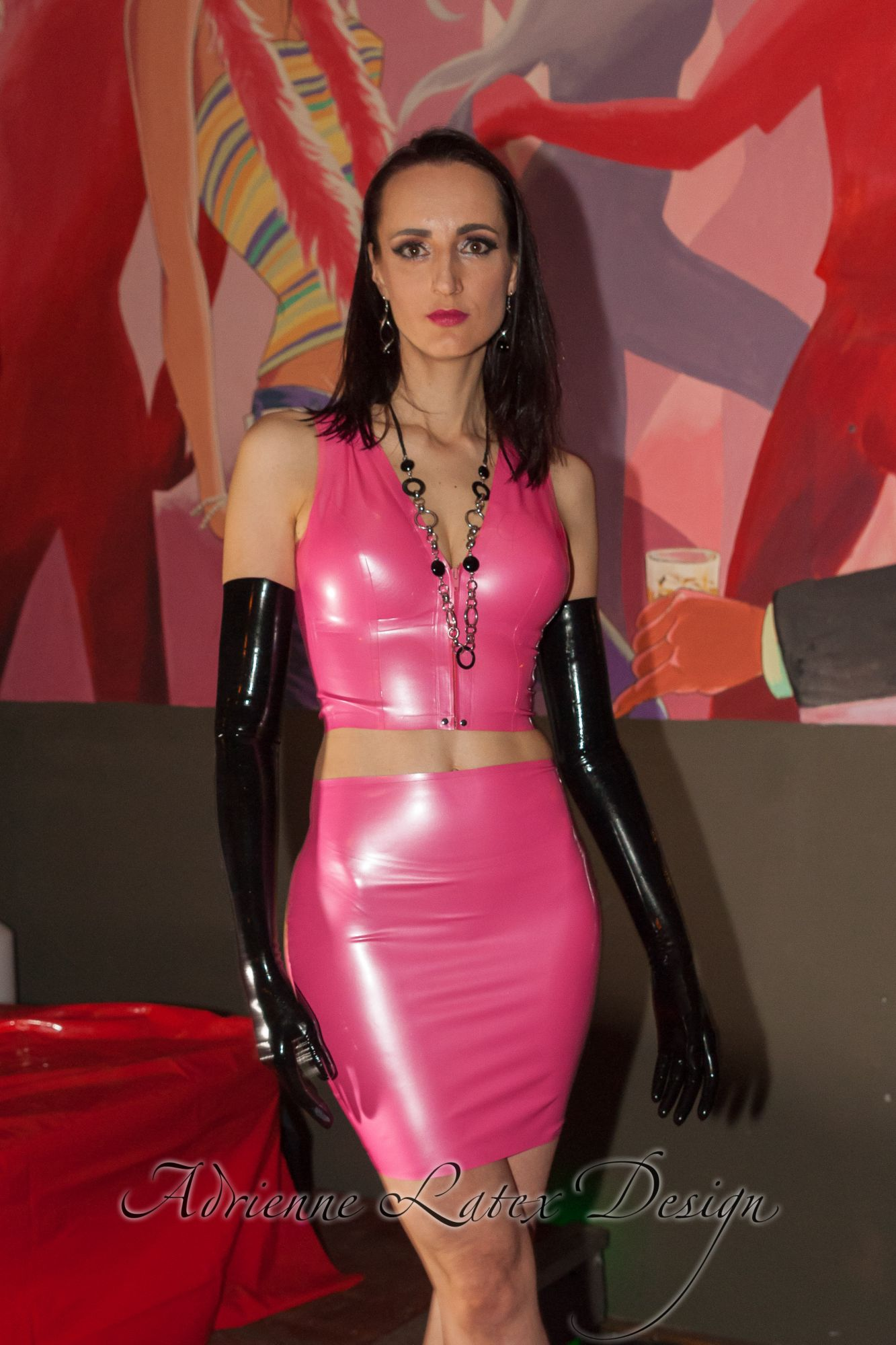 Latex Colors Adrienne Latex Design Custom Made Fetish
