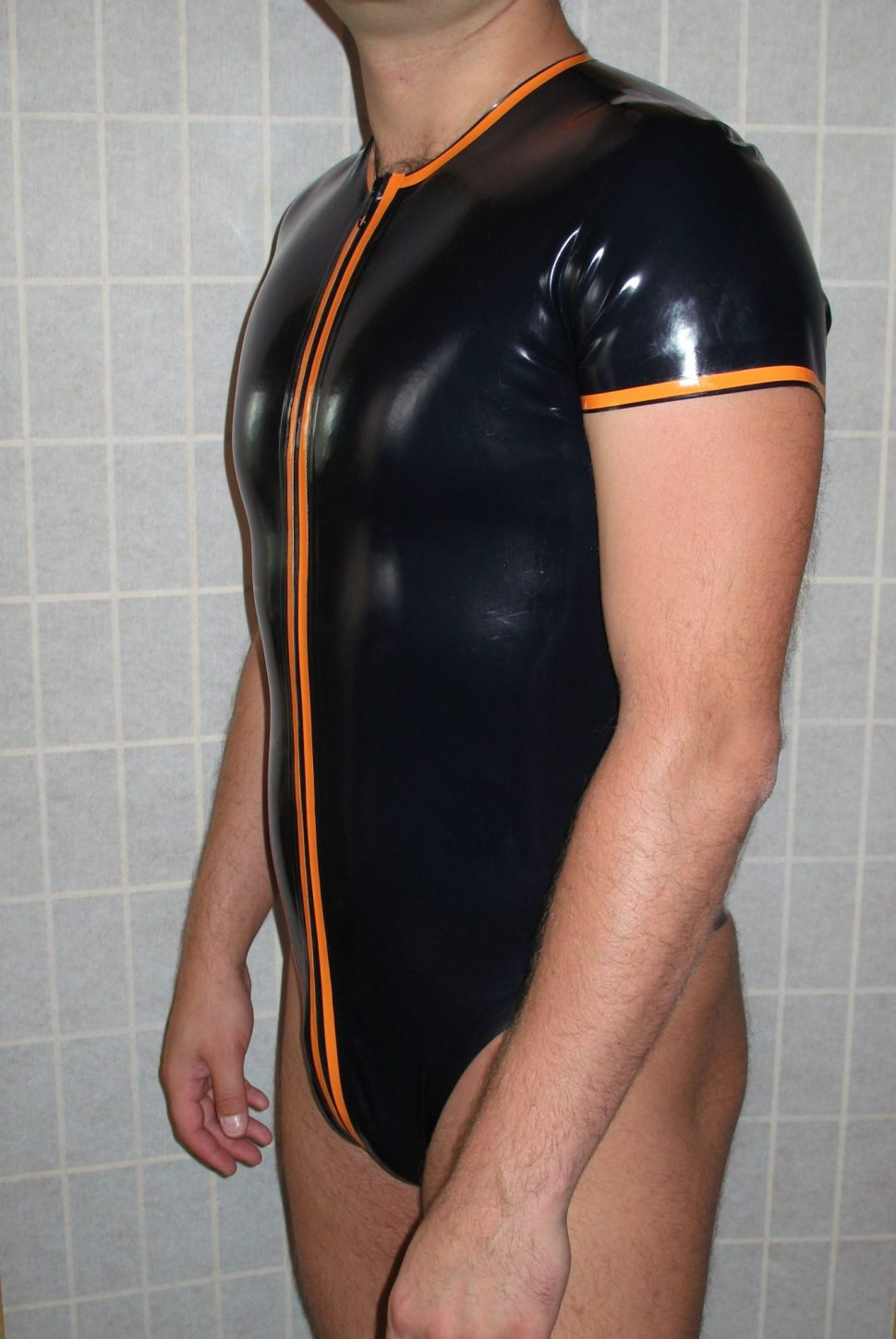mens body latex Adrienne