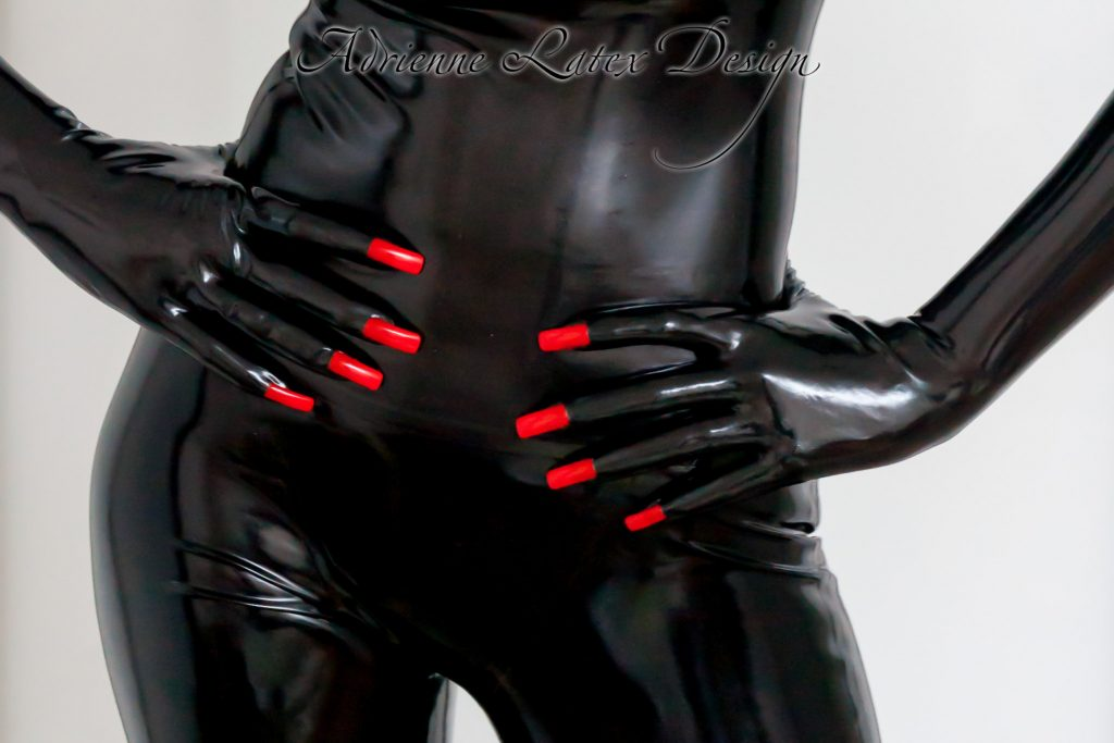 Latex Gloves With Nails Porn300 1