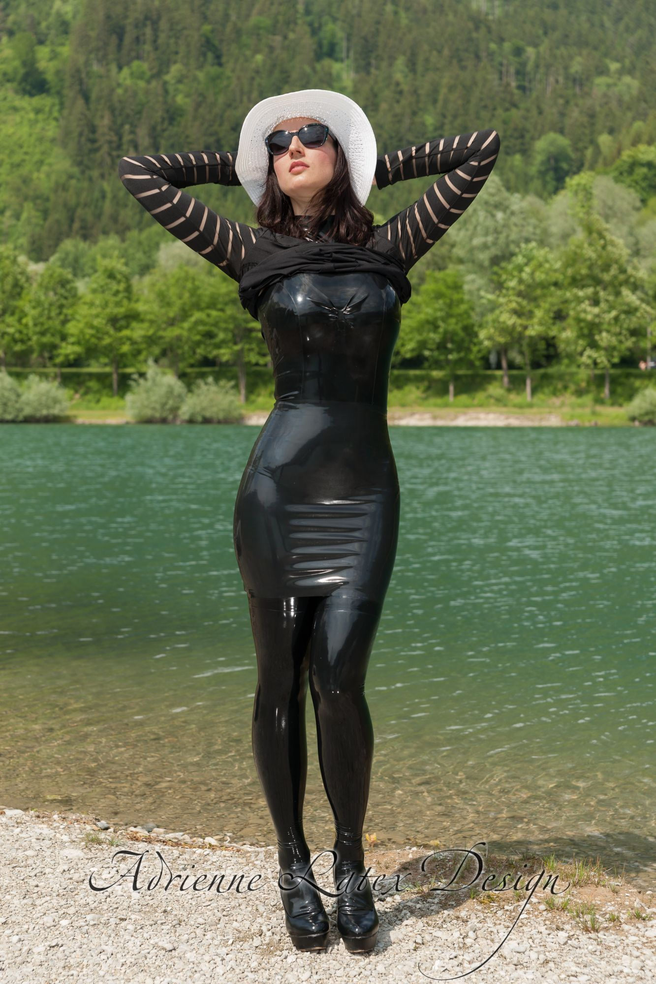 Gal 2 Adrienne Latex Design Custom Made Fetish Fashion